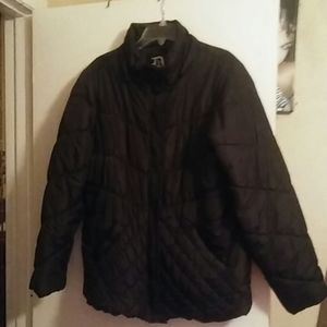 NWOT BLACK INSULATED JACKET..SIZE XL